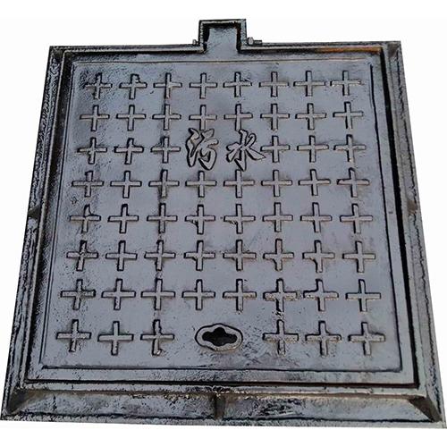 球墨铸铁方形井盖